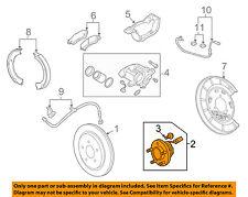 Chevrolet GM OEM 14-15 Camaro Brake-Rear-Wheel Hub & Bearing 13595965