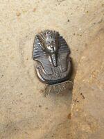 Rare Antique Ancient Egyptian silver Statue King Tutankhamun 1334 BC