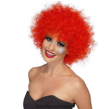 Perruques, barbes et moustaches rouge Smiffys pour déguisement et costume