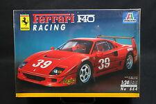 XW104 ITALERI 1/24 maquette voiture 664 Ferrari F40 Racing - Ptitoys