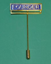 Craft Founders Jewel with stick pin NEW (TBAR-F)