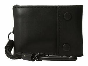 Nixon Gravel Bi-Fold Rope Wallet (Black) RRP $69.99 Leather Unisex