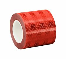 New listing 3M 3432 Red Micro Prismatic Sheeting Reflective Tape – 4 in. X 15 Free Shipping