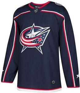 adidas Columbus Blue Jackets NHL Men's Climalite Authentic Team Hockey Jersey 50