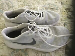 Women's Nike Flex Contact - Size 10 - White/Gray