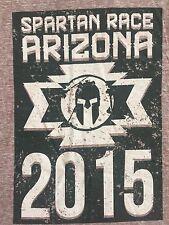 Arizona Spartan Race 2015 I Am Spartan Sprint  Race Finishers T-shirt Medium M