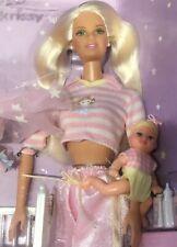 2000 Bedtime Barbie & Krissy baby doll NRFB