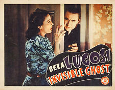 The Invisible Ghost 11 X 14 Lobby Card LC Bela Lugosi