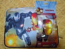 "Iron Man 3 Cover Sleeve with Optical Mouse Fits Up to 14"" Notebook"