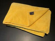 Genuine Fendi Large Beach Towel, New Unused, 100% Cotton,Yellow