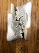 Mens Adidas Pro Vision Basketball Shoes White/Gray/Gum Sole D96945 Size 7.5 DS