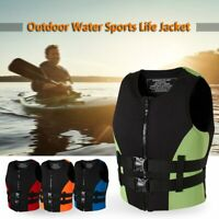 Adult Life Jacket Drifting Swimming Boating Fishing Jetski Surf Life Vest 2020