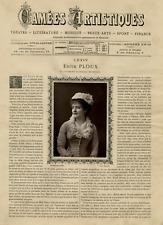 Goupil, France, Camées Artistiques, Edith Ploux vintage print Photoglyptie