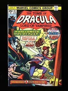 Tomb Of Dracula #41 NM 9.4