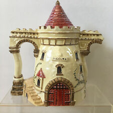 Department Dept 56 Castle Gatehouse Tea & Crumpets Teapot Lusterware 2002 7""