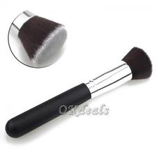 Face Kabuki Cosmetic Powder Makeup Brush Flat Top Foundation Tool