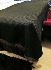 Bed Reversible King 100 X 53 Sham 41 X 25 Home Table Hollywood Regency #T12