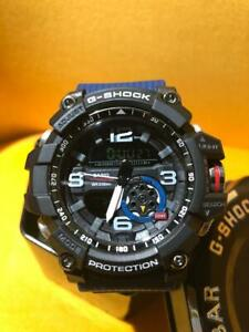 Casio G-Shock Black Blue Mens Watch GG1000-1A5