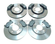 PEUGEOT 206 2.0 GTI 2002 + 2003 FRONT & REAR BRAKE DISCS AND MINTEX PADS SET NEW