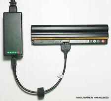 External Laptop Battery Charger for Lenovo ThinkPad X100E X120E, 42T4897 0A36278