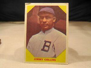 Jimmy Collins 1960 Fleer #25 Baseball Greats HOF