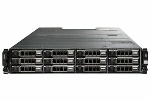"Dell PowerVault MD1400 12x 3.5"" CTO Storage Array 2x 12G-SAS-4 Controller 2x PSU"