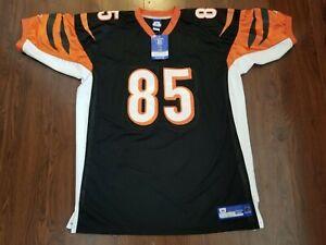 Cincinnati Bengals Chad Johnson Ochocinco #85 Reebok Jersey Stitched Sz 56 NEW