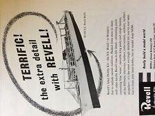 m5-1a ephemera 1950s advert revell kits s s brasil terrific