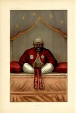 EMPEROR OF ABYSSINIA AND ETHIOPIAN PRINCE KING OF SHOA THRONE LION OF JUDAH
