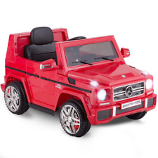 Mercedes Benz G65 AMG Licensed Remote Control Kids Riding Car Red