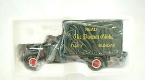 FIRST GEAR 1/34  BOSTON GLOBE NEWSPAPER 1951 FORD  TRUCK / COIN BANK # 29-1064