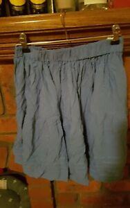 sancerre the brand teal blue skirt new