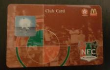 Sammler used Seizoen Club Card NEC Nijmegen 2003-2005 Texaco McDonalds