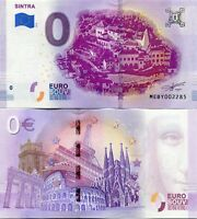 Sintra Portugal 0 Euro Souvenir Note 2019 Series 1 Unesco World Heritage site