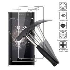 Sony Xperia XA2 Premium anti-arañazos Protector de Pantalla de Vidrio Templado vendedor del Reino Unido
