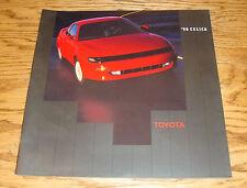 Original 1990 Toyota Celica Deluxe Sales Brochure 90