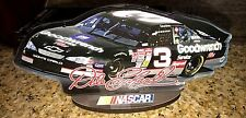 DALE EARNHARDT #3 NASCAR ACRYLIC STANDUP MIRROR BACK WOOD BASE USA GREAT GIFT