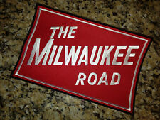 LARGE (9-1/2 x 6 inch) Milwaukee Road embroidered patch MSP&P