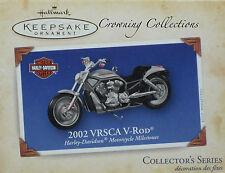 2004 Hallmark Harley Davidson 2002 VRSCA V ROD Motorcycle Milestones Ornament #6