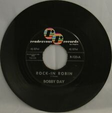 Bobby Day • Rock-in Robin b/w Over and Over • store stock!