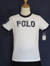 Superbe T-Shirt blanc RALPH LAUREN - Neuf avec étiquette - Taille : 8 ans