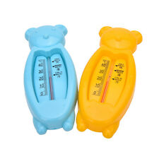 Baby Plastic Float schwimmende Bär Spielzeug Bad Wasser Sensor Thermometer WH