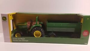 John Deere Tractor and Wagon Die-Cast Toy Set by TOMY 2020 New and Sealed