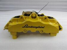 Lamborghini Gallardo, RH Front Brake Caliper, Yellow, Used, P/N 400615106BE