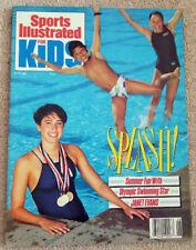 Janet Evans Sports Illustraded for Kids June 1989