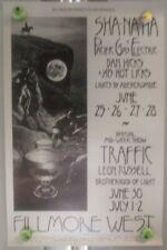 Sha Na Na-TraFfic-Leon RuSseLl-Bg240 BiLl Graham-FiLlmore FirSt Print Poster