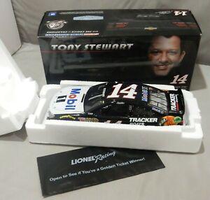 2014 SS TONY STEWART #14 MOBIL 1 1:24 NASCAR MIB LIMITED 1 OF 2,014