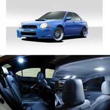 7 x White LED Interior Lights For 2002 - 2003 Subaru Impreza WRX STI + Pry TOOL