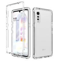 For LG Velvet 5G Phone Case Clear Hybrid Shockproof Slim Thin Armor Rugged Cover
