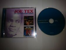 JOE TEX LIVE AND LIVELY/SOUL COUNTRY ORIGINAL RPM CD
